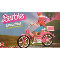 Barbie MOTOR BIKE w Realistic MOTOR NOISE Sounds! (1983 Mattel Hawthorne)