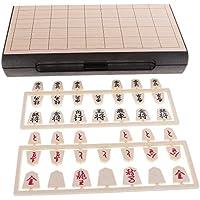 sunnimix磁気Japaneseチェス折りたたみ磁気ボードゲームと将棋ポータブル