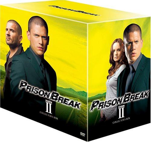 プリズン・ブレイク シーズン2 DVDコレクターズBOXの詳細を見る