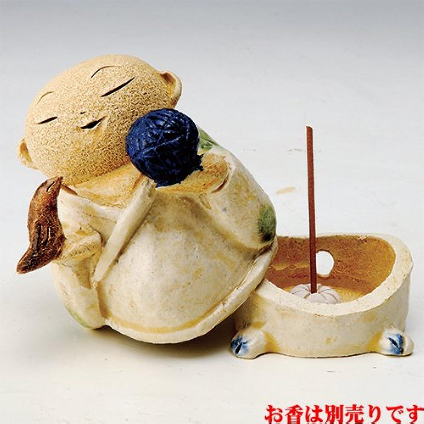 生理昼間発揮するお地蔵様 香炉シリーズ 鳥と毬地蔵 香炉(少小) [H8.5cm] HANDMADE プレゼント ギフト 和食器 かわいい インテリア