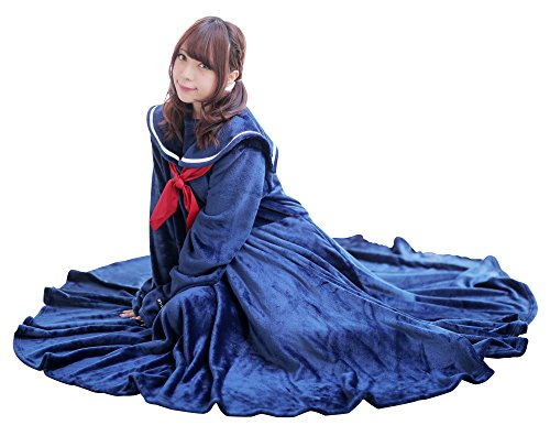 BIBILAB (ビビラボ) セラコレ 着る毛布 セーラー服...