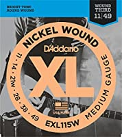 D'Addario EXL115W エレキギター弦×3SET