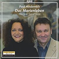 Hindemith: Das Marienleben [Maya Boog, Michael Lakner] [CPO: 777817-2] by Maya Boog (2014-03-08)