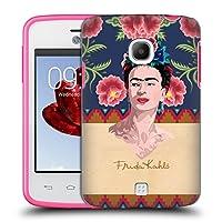 Official Frida Kahlo レッド ポートレイト ハードバックケース LG L30