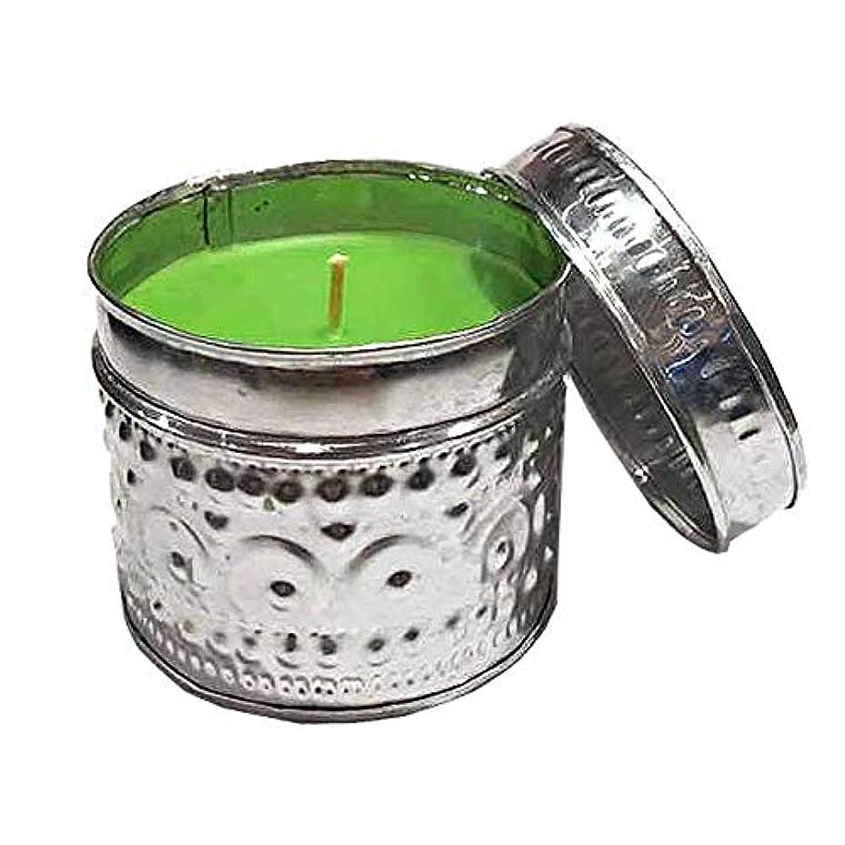 ディレクターアーティキュレーション年金受給者Round Offering Tin (Lime Green)