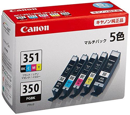 【純正品】 キヤノン(Canon) インクカートリッジ 5色...