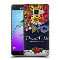 Official Frida Kahlo ブルーム レッド・フローラル ハードバックケース Samsung Galaxy A3 (2016)