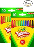 Crayola 52–971510CT Twistableクレヨン 52-9715