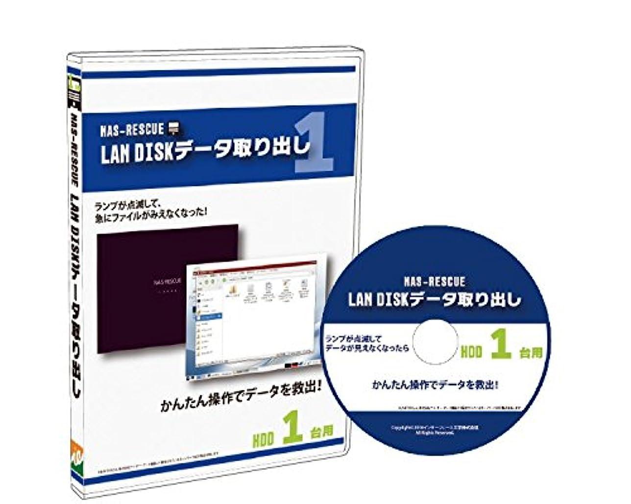 LAN DISKデータ取り出しHDD1台用