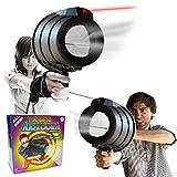 「レーザーポインター」がついた豪華版 - LASER AIR ZOOKA / レーザーエアズーカ 空気砲 Dianziオリジナルバージョン[CXD0327] [並行輸入品]