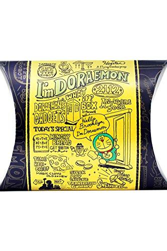 長崎心泉堂 プレミアムチョコカステラ I'm Doraemon ゴールド (個別包装38g×1個入り) プチギフト チョコレート チョコチップ入り バレンタインデー ホワイトデー 贈り物 【日頃のありがとうを込めて/ギフトメッセージカード付】