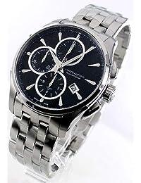 9742e4ccbb ハミルトン ジャズマスター オート クロノ クロノグラフ 腕時計 メンズ HAMILTON H32596131[並行輸入品]