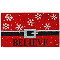 Home & More 101811729 Believe Doormat [並行輸入品]