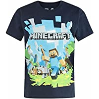 Minecraft Adventure Logo Boy's T-Shirt