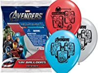 Marvel Heroes Latex Balloons (6ct) by Pioneer Plastics