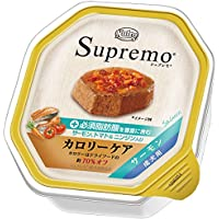 ニュートロ シュプレモ カロリーケア サーモン 成犬用 トレイ 100g×6コ