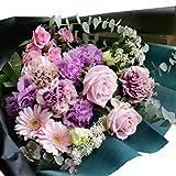 花束 スタイリッシュなフラワーギフト レディフェミニン
