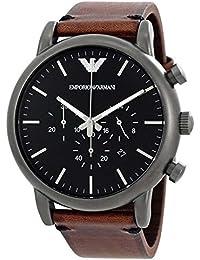 [エンポリオアルマーニ] EMPORIO ARMANI 腕時計 Dress Chronograph Black Dial Men's Watch メンズ AR1919 [並行輸入品]