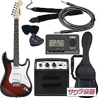 SELDER セルダー エレキギター ストラトキャスタータイプ ST-16/RDS 初心者入門ベーシックセット