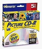 Memorex 700MB 48x CD-R (5-Pack) [並行輸入品]