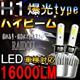 ホンダ オデッセイ H15.10~H18.3 RB1・2 ヘッドライト ハイビーム LED H1 6500k ホワイト 車検対応