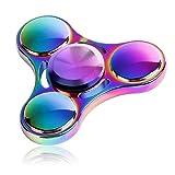 IVSO  ハンドスピナー 指スピナー 人気の指遊び おもちゃ  無沙汰解消  ストレス解消  フォーカス玩具  独楽回し 子供大人に適用 ( 虹の色1)