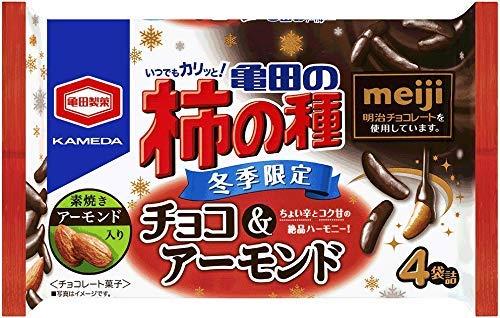 亀田製菓 亀田の柿の種 チョコ&アーモンド 77g×6袋