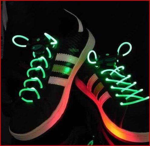 光る靴ひも LED靴ひも LED ランニングシューズ 靴紐 ...