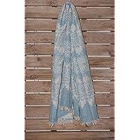 Lykia Way Anatolian Kilim Jacquard、両面トルコ綿100%、手織りトルコペシュテマル ハンドメイド ビーチタオル