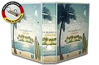 バインダー 2 Ring Binder Lever Arch Folder A4 printed Tropical Iceland