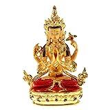 Dovewill 千手観音 仏像 チベット 銅合金 菩薩 仏教用品 祝福 幸運 保護