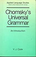 Chomsky's Universal Grammar: An Introduction (Applied Language Studies)