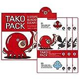 Nightingale 3Step Tako Pack 3EA/ナイチンゲール 3ステップ タコ パック [タコ吸着パック] 3回分 [並行輸入品]
