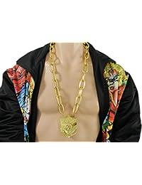 TFjメンズファッションロングネックレスゴールドChunkyメタルチェーンStatue Libertyペンダントヒップホップマイアミビーチジュエリー