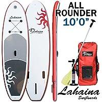 SUP サップ インフレータブルパドルボード ラハイナ/LAHAINA SUP 10'0 レッド/ホワイト オールラウンダー
