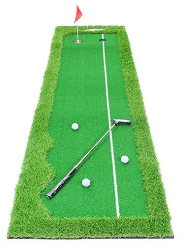 GolfStyle パターマット ゴルフ パター 練習 マット グリーン ラ...