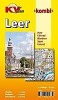 Leer: Cityplan 1 : 7500, Stadtplan 1 : 15 000, Freizeitkarte 1 : 25 000. Auto. Fahrrad. Wandern. Sport. Freizeit