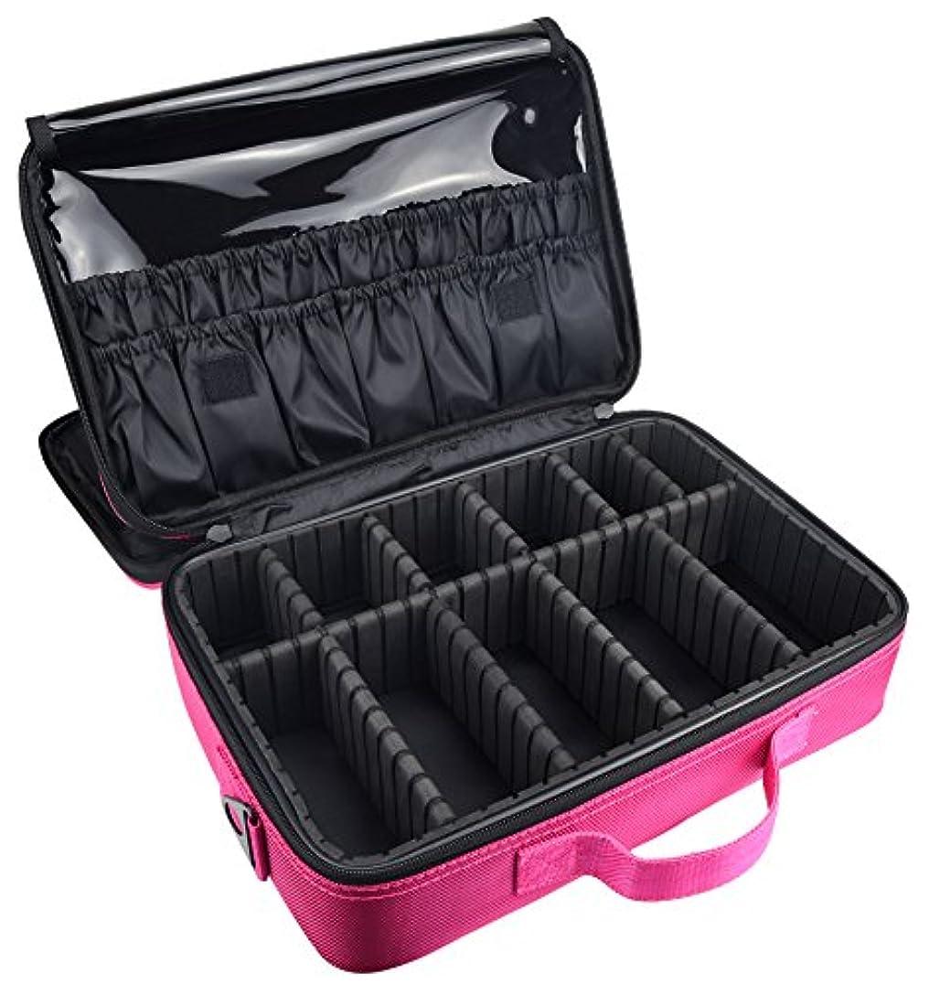サーキットに行く端子音ArcEnCiel メイクボックス プロ用 大容量 コスメボックス メイクブラシ 化粧道具 小物収納
