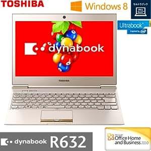 東芝 モバイルパソコン dynabook R632(Office Home and Business搭載) PR63228GMHK