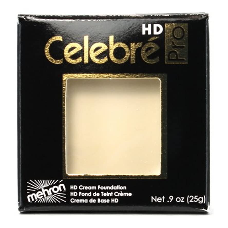 豊富ニッケルであること(3 Pack) mehron Celebre Pro HD Make-Up - Eurasia Ivory (並行輸入品)