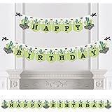 Prickly Cactusパーティー – フィエスタ誕生日パーティーホオジロバナー – 誕生日パーティーデコレーション – Happy誕生日