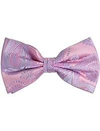 ポール?マローンシルク蝶ネクタイ。ピンク
