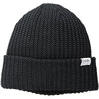 Coal Mens 2258 The Eddie Recycled Rib Knit Beanie Hat Skull Cap