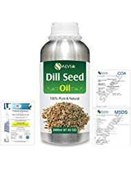 Dill Seed (Anethum graveolens) 100% Natural Pure Essential Oil 2000ml/67 fl.oz.
