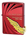ジッポー Zippo(ジッポ) オイルライター 1000個限定 シリアルナンバー入り ANGEL'S WINGS(エンジェル ウィング) XVII レッド PAW-117RD