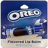 Taste Beauty (1) Stick Oreo Cookie Flavored Lip Balm Gluten Free - Blue Tube Carded - Net Wt. 0.12 oz