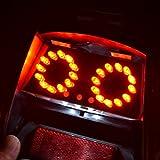 ライブDio LED テールランプ 24灯 ナンバー灯搭載 ブレーキランプ バイクテール