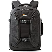 Lowepro Pro Runner Bp 350 AW II, Pro Photographer's Backpack, Purpose-Built to Organize and Protect Maximum Gear in A Compact Design, Black, (LP36874-PWW)