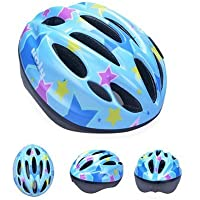 UnaFreely 配送無料 子供用 軽量 ヘルメット サイクリング 自転車 スケート びっくり 軽い ヘルメット 幼児 キッズ 子供 小学生