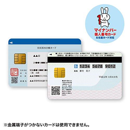 SANWASUPPLY(サンワサプライ)『接触型ICカードリーダライタ(ADR-MNICUBK)』